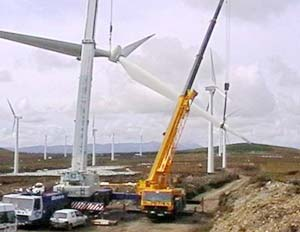 Construction of Wind Tower